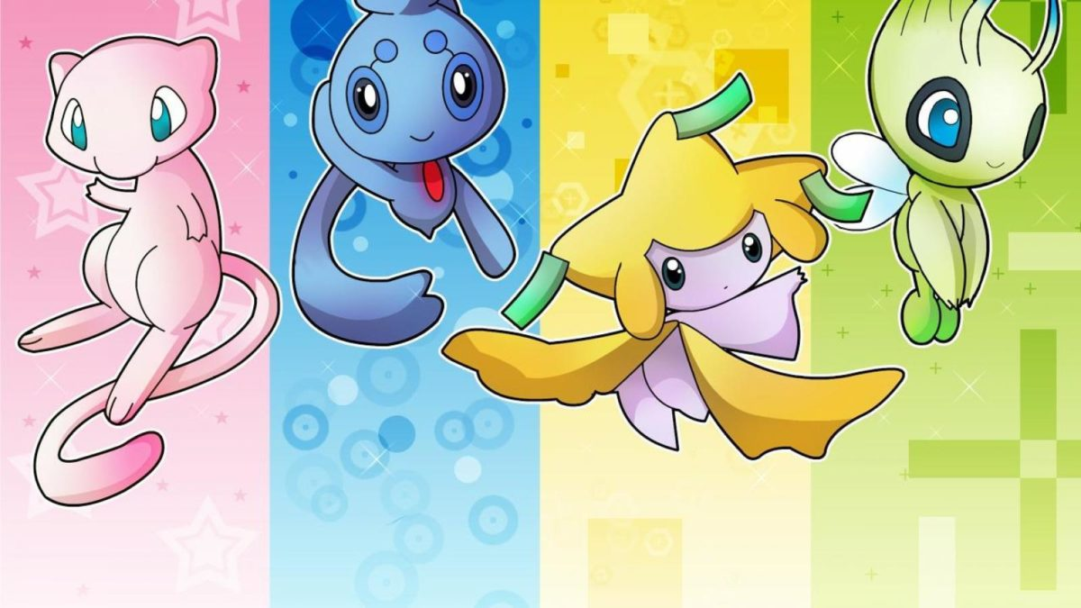 Mew (pokemon) images 4 Amigos HD wallpaper and background photos …