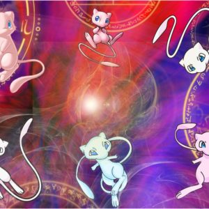 download Mew (pokemon) images Mew HD wallpaper and background photos (35593362)