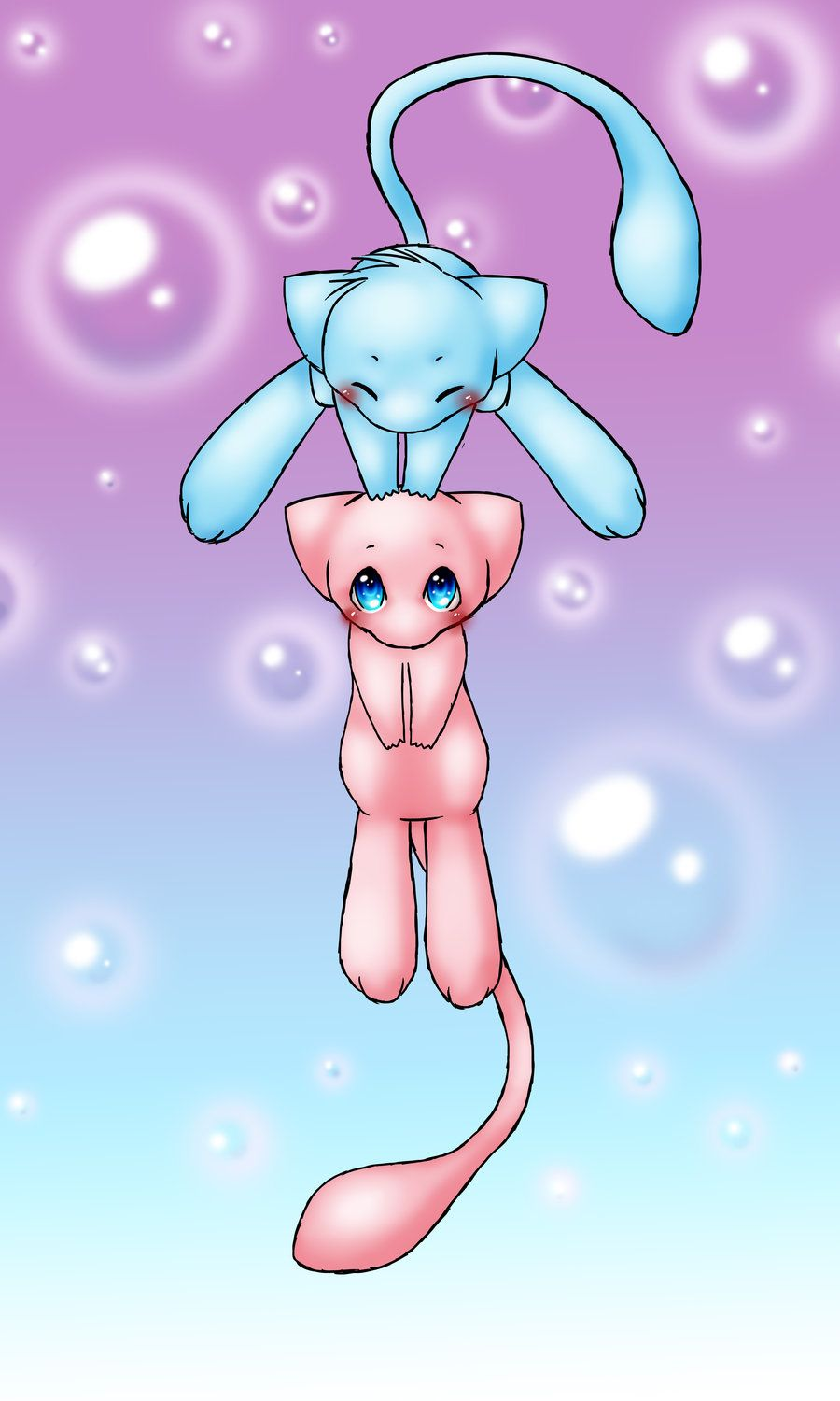 Mew (pokemon) images Mew Love! HD wallpaper and background photos …