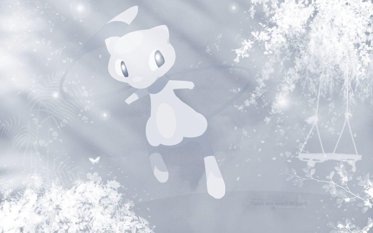 Mew – Pokémon – HD Wallpaper #357966 – Zerochan Anime Image Board
