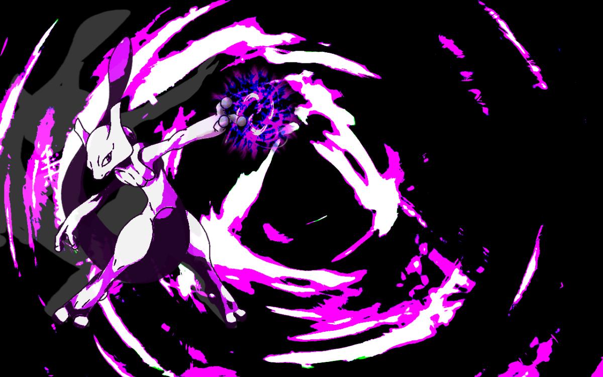 HD Mewtwo v2 1280x Wallpaper
