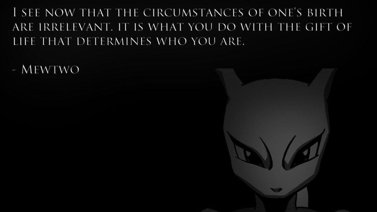 Anime Mewtwo Pkemon Quotes – WallDevil