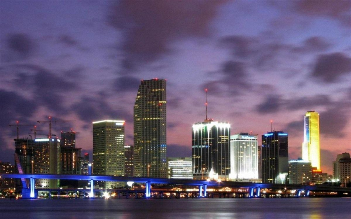 Viewing Gallery for Miami Beach Skyline Wallpaper 1440x900PX …