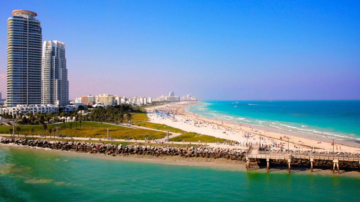 Miami Beach Sea wallpaper