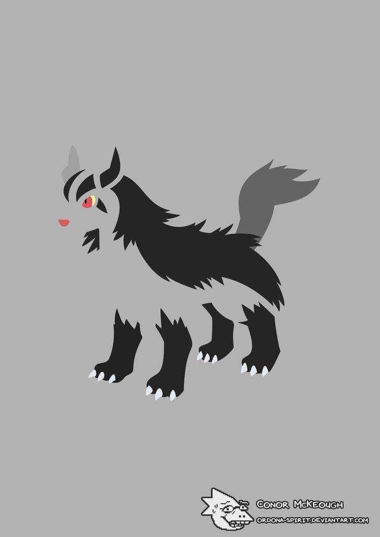 Mightyena by ordona-spirit on DeviantArt