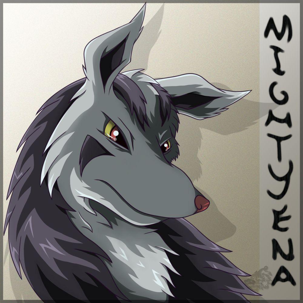 Mightyena… again by HyenaVitani on DeviantArt