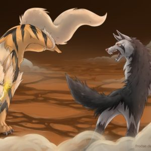 download Arcanine Vs Mightyena by Frodse on DeviantArt
