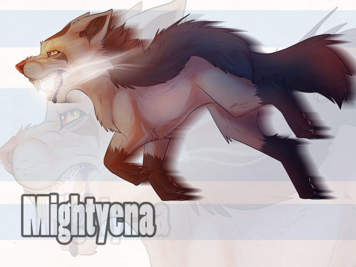 262: Mightyena by SillyTheWolf on DeviantArt