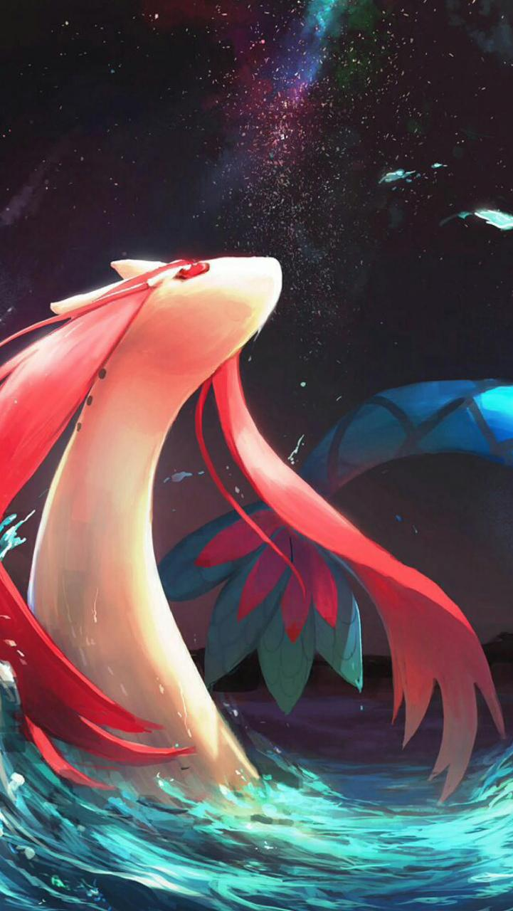 milotic wallpaper by umbreon18 • ZEDGE™ – free your phone
