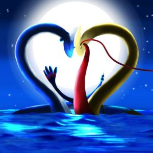 download Dragonair and Milotic – A Valentine's Evening by EGStudios93 on …