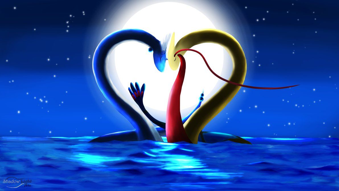 Dragonair and Milotic – A Valentine's Evening by EGStudios93 on …