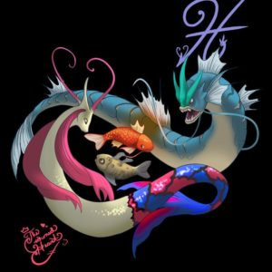 download Pisces- Milotic and Gyarados by TheCrownedHeart on DeviantArt