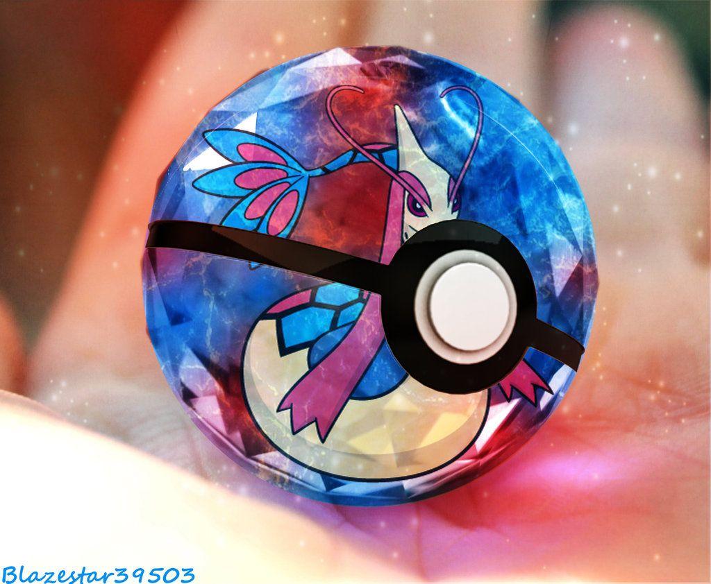 Milotic pokeball by Blazestar39503 on DeviantArt