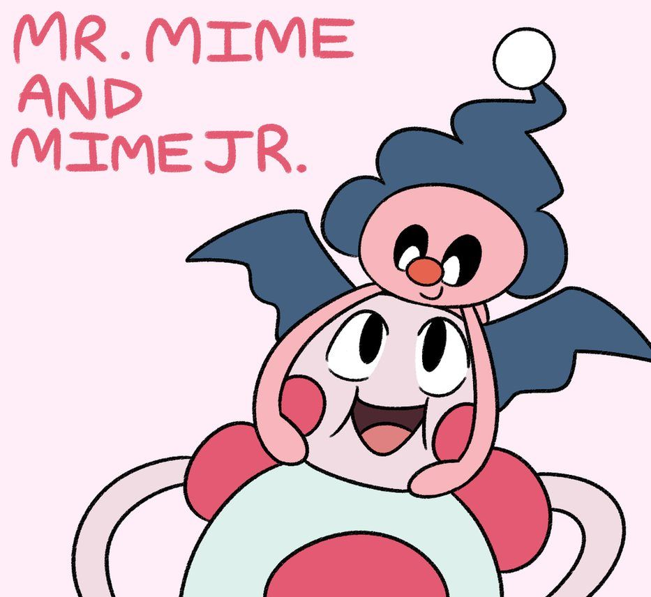 EVENT: MR. MIME AND MIME JR. by relyon on DeviantArt