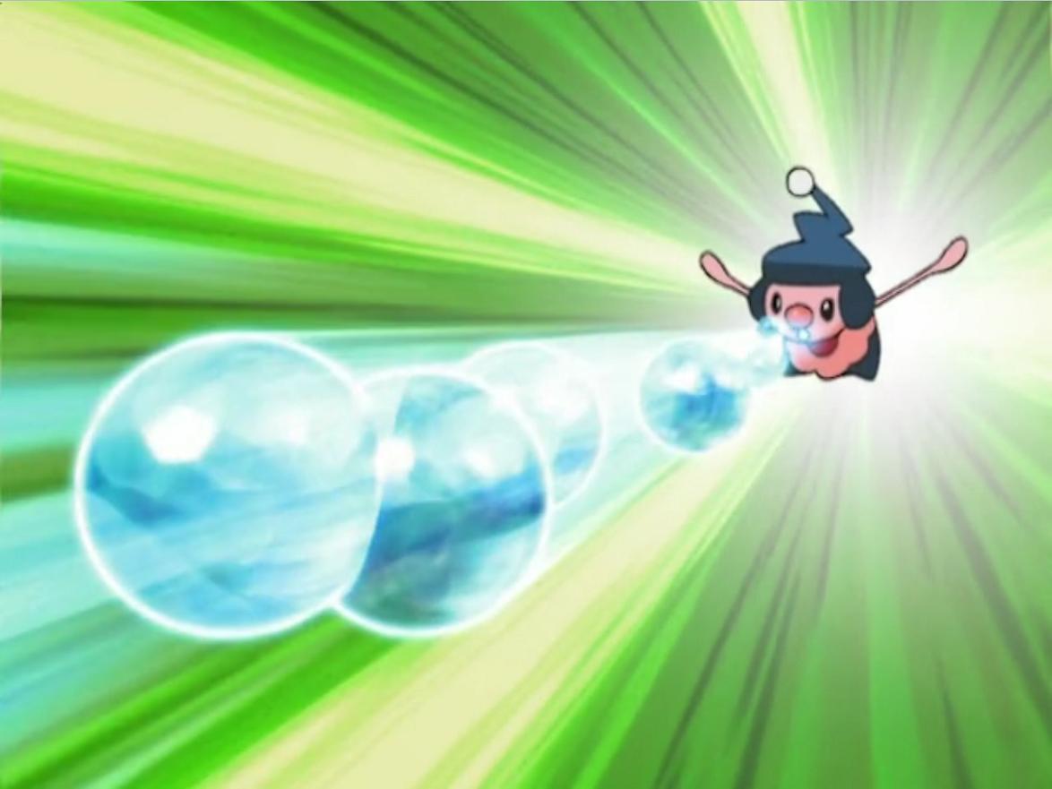 Image – James Mime Jr Mimic Bubble Beam.png | Pokémon Wiki | FANDOM …