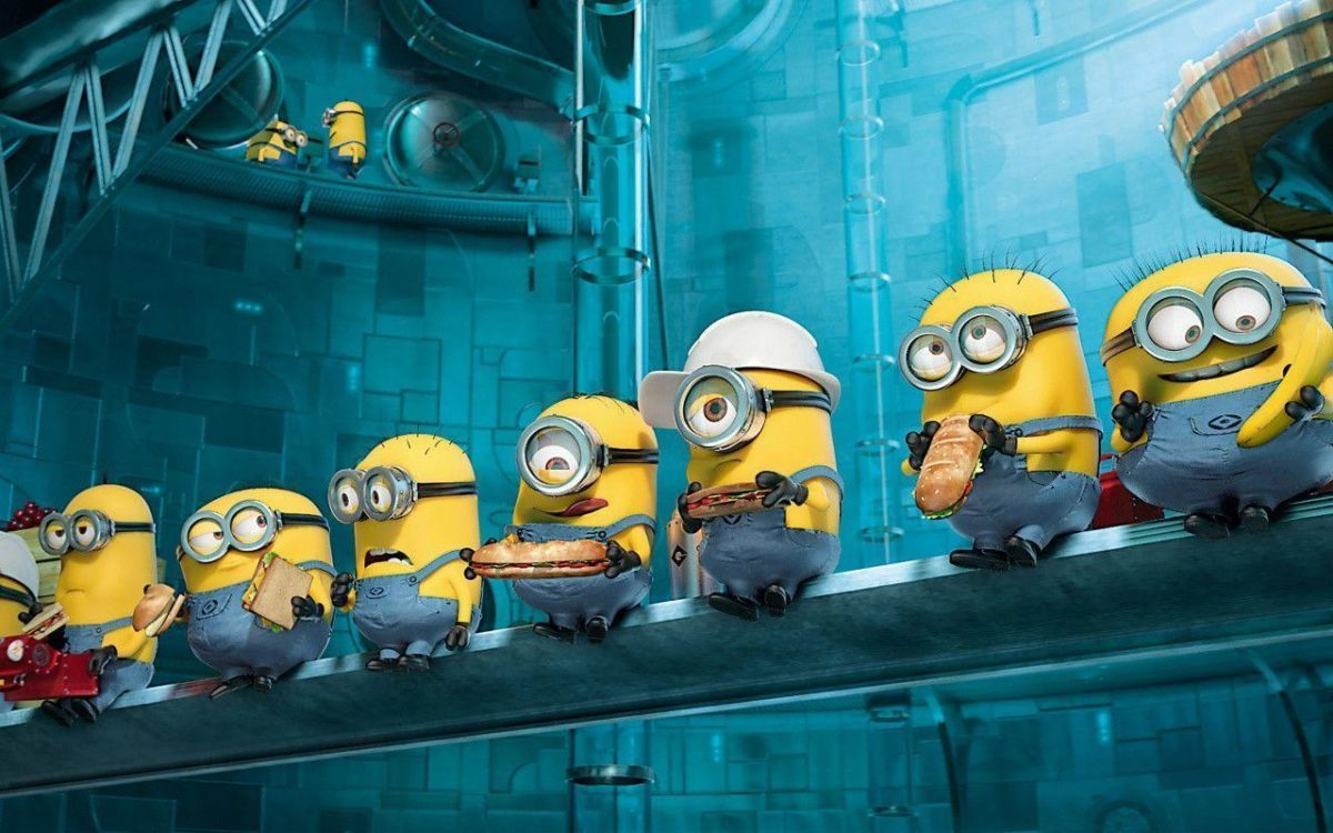 Paradise Minions Despicable Me 2 Wallpapers | HD Wallpapers