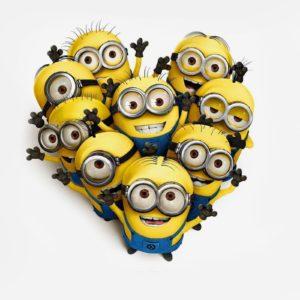 download I Love Minion Wallpaper #6143