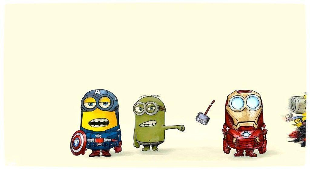 Stunning Minion Hd Wallpaper Superhero 1024x564PX ~ Minions …