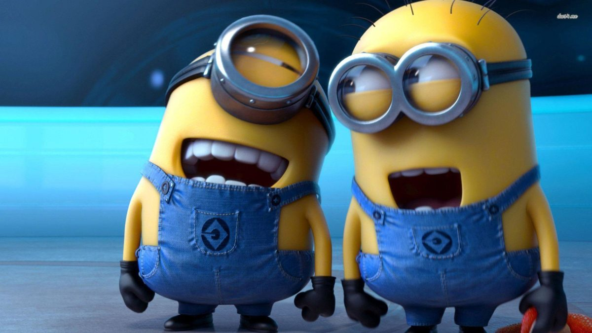 Despicable Me 2 Laughing Minions wallpaper – Cartoon wallpapers – #