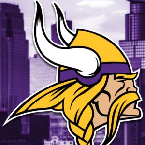 download Minnesota Vikings 2018 Mobile City Logo Wallpaper