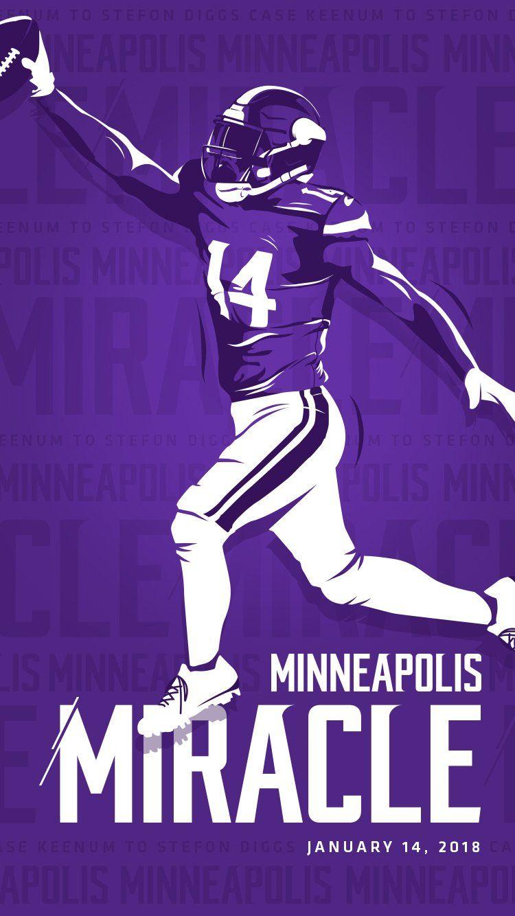 Minnesota miracle wallpaper from the Vikings Twitter : minnesota