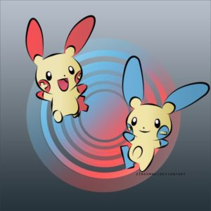 download Plusle and Minun | Pokemon ~ by xInsomne on DeviantArt