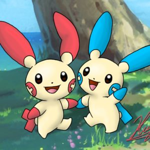 download 311-312 – Plusle and Minun by neoyurin on DeviantArt