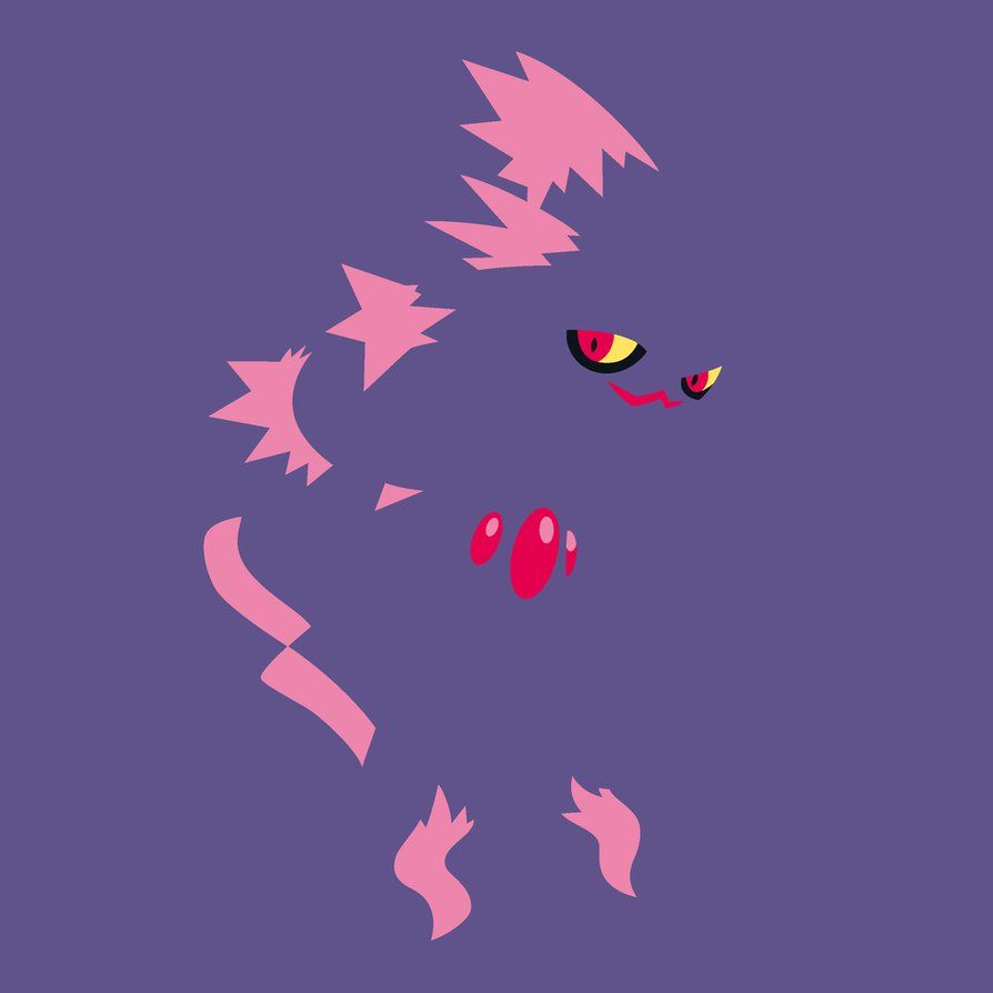 Minimalist Pokemon: Mismagius by TourniquetMuffin on DeviantArt