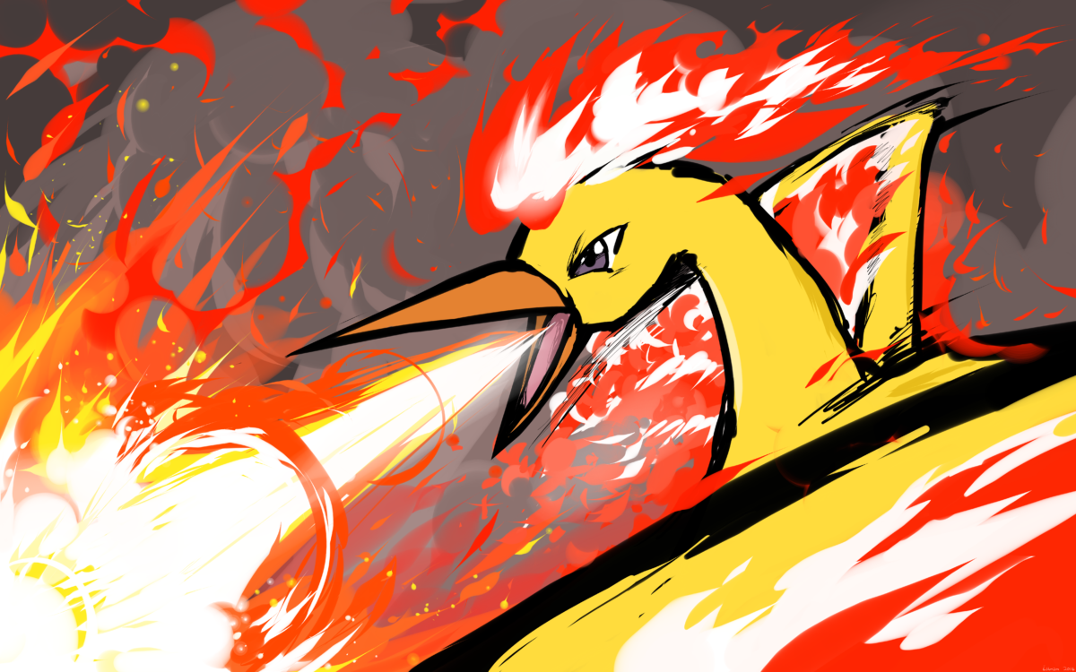 Moltres | Fire Spin 5k Retina Ultra HD Wallpaper and Background …