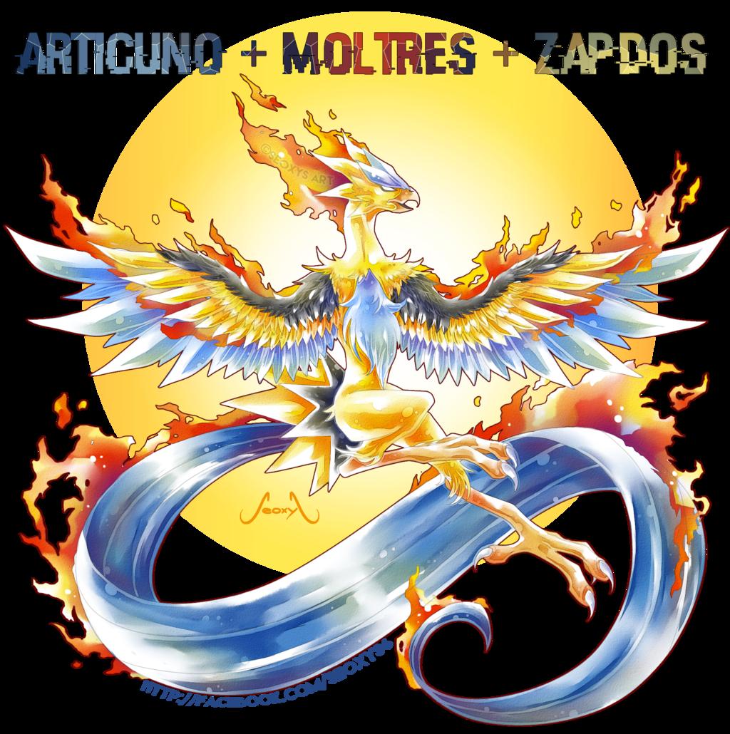 Articuno, Zapdos and Moltres images Articuno Zapdos and Moltres …