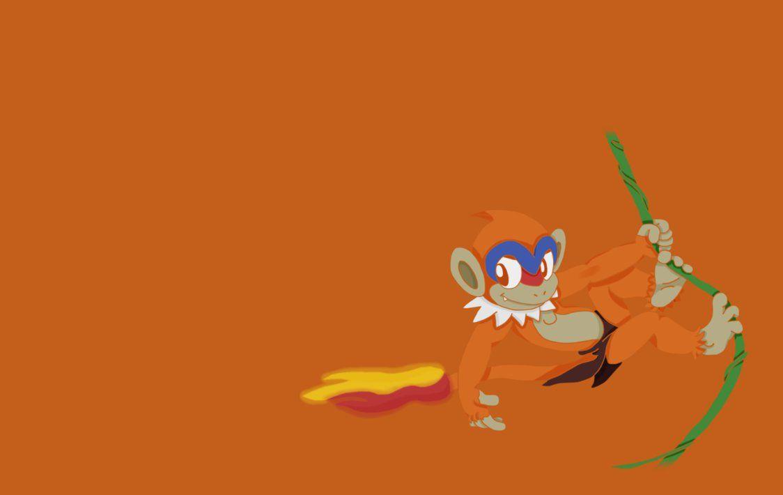 Monferno as Young Tarzan wallpaper!! by PoKeMoN-Traceur on DeviantArt