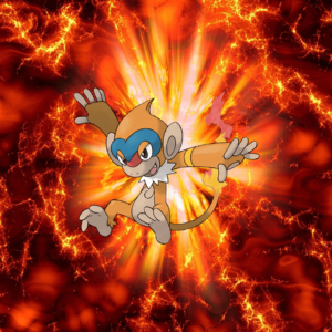 download 391 Fire Pokeball Monferno Moukazaru 2 Chimchar | Wallpaper