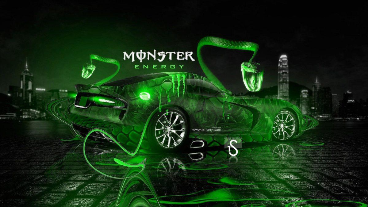 Monster, Energy, Wallpaper, Fantasy, Snake, Car, Wallpapers – 1903946