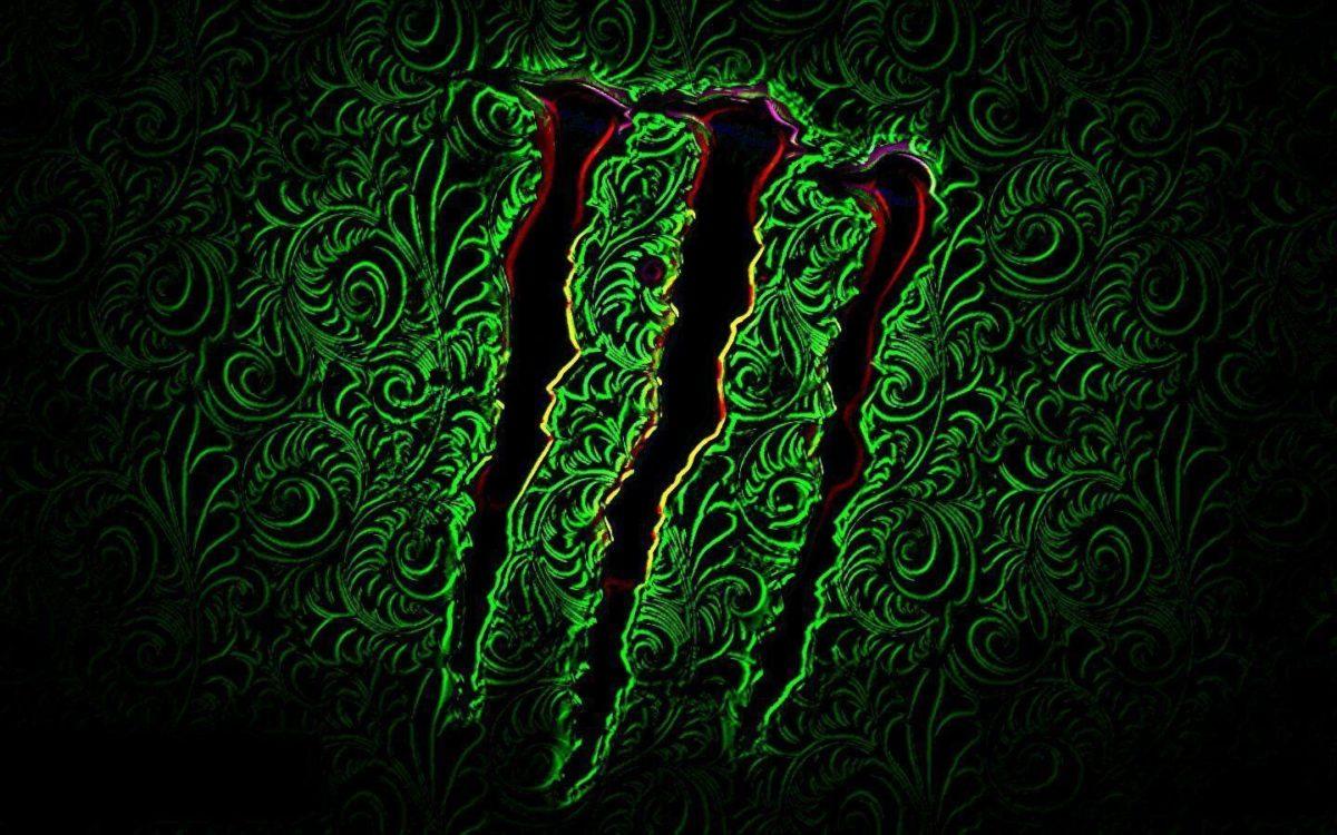 Wallpapers For > Monster Energy Logo Wallpaper Green