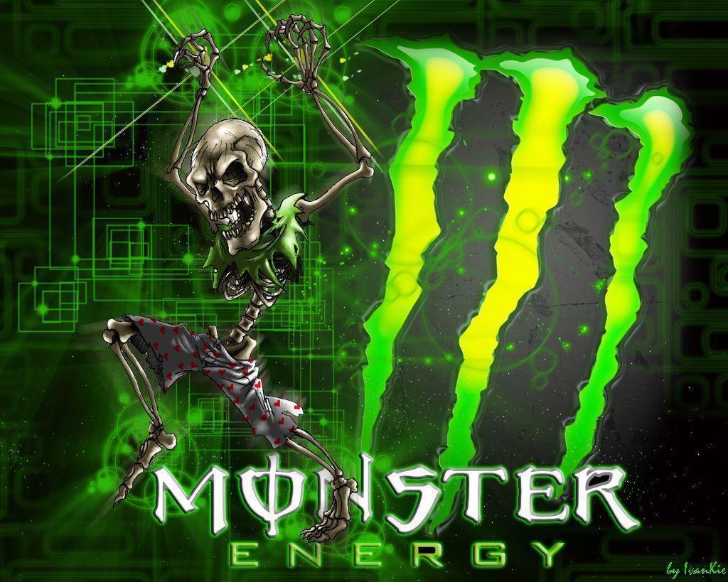 Kawasaki Logo Monster Of Energy Wallpaper #10237 Wallpaper   WallGoo.