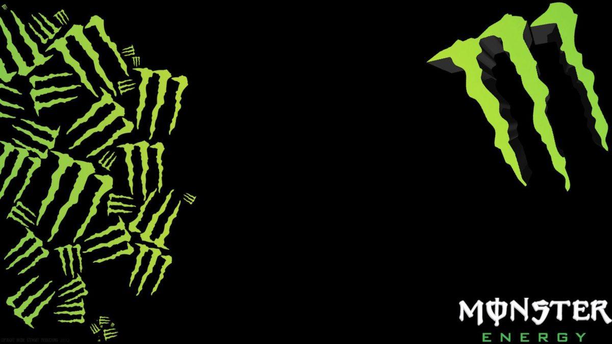 Blue Monster Energy Logo Wallpaper – WallpaperSafari