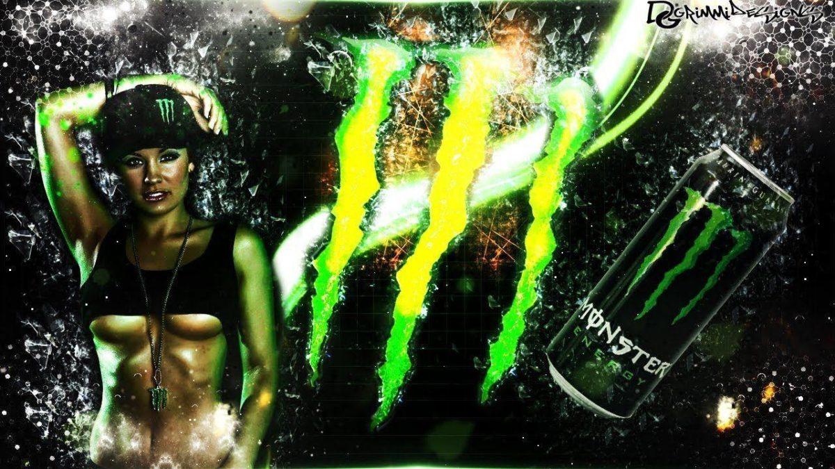 Speedart   Monster Energy Wallpaper   by GrimmiDesigns – YouTube