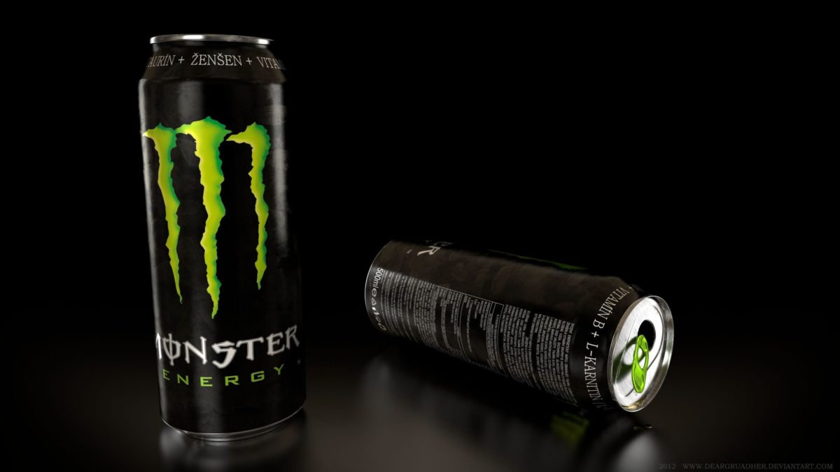 Food Monster Energy Drink 2592x997px – 100% Quality HD Wallpapers