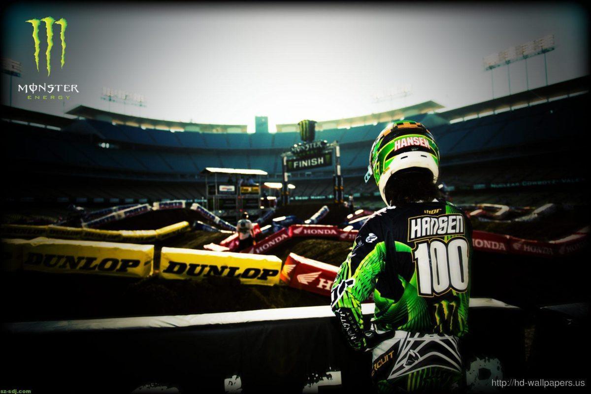 Hansen Motocross Monster Energy Wallpaper Hd – Free Download HD …