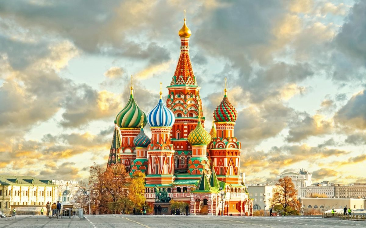 Saint Basil's Cathedral Moscow wallpaper HD background download …