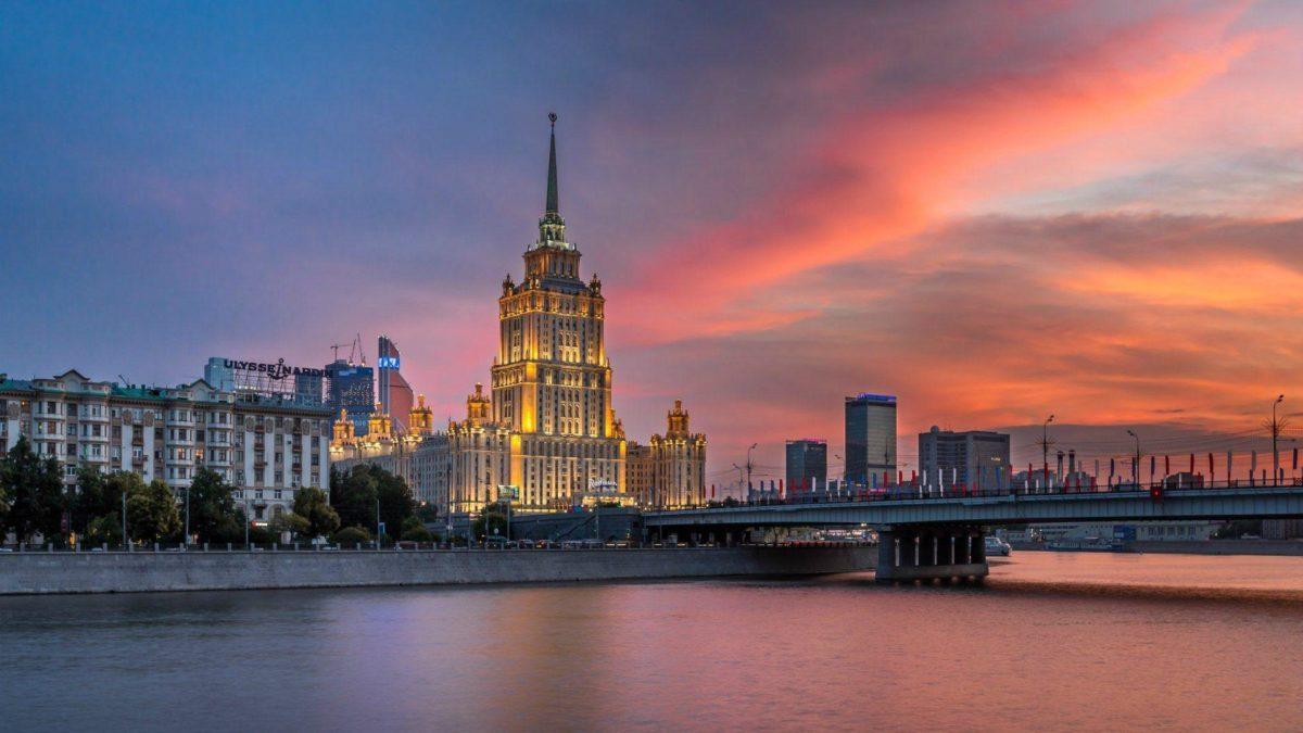 Hotel Ukraine Moscow – wallpaper.