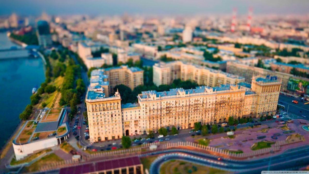 Aerial View Of Moscow HD desktop wallpaper : High Definition …