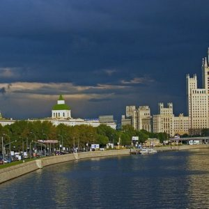 download Moscow River wallpaper