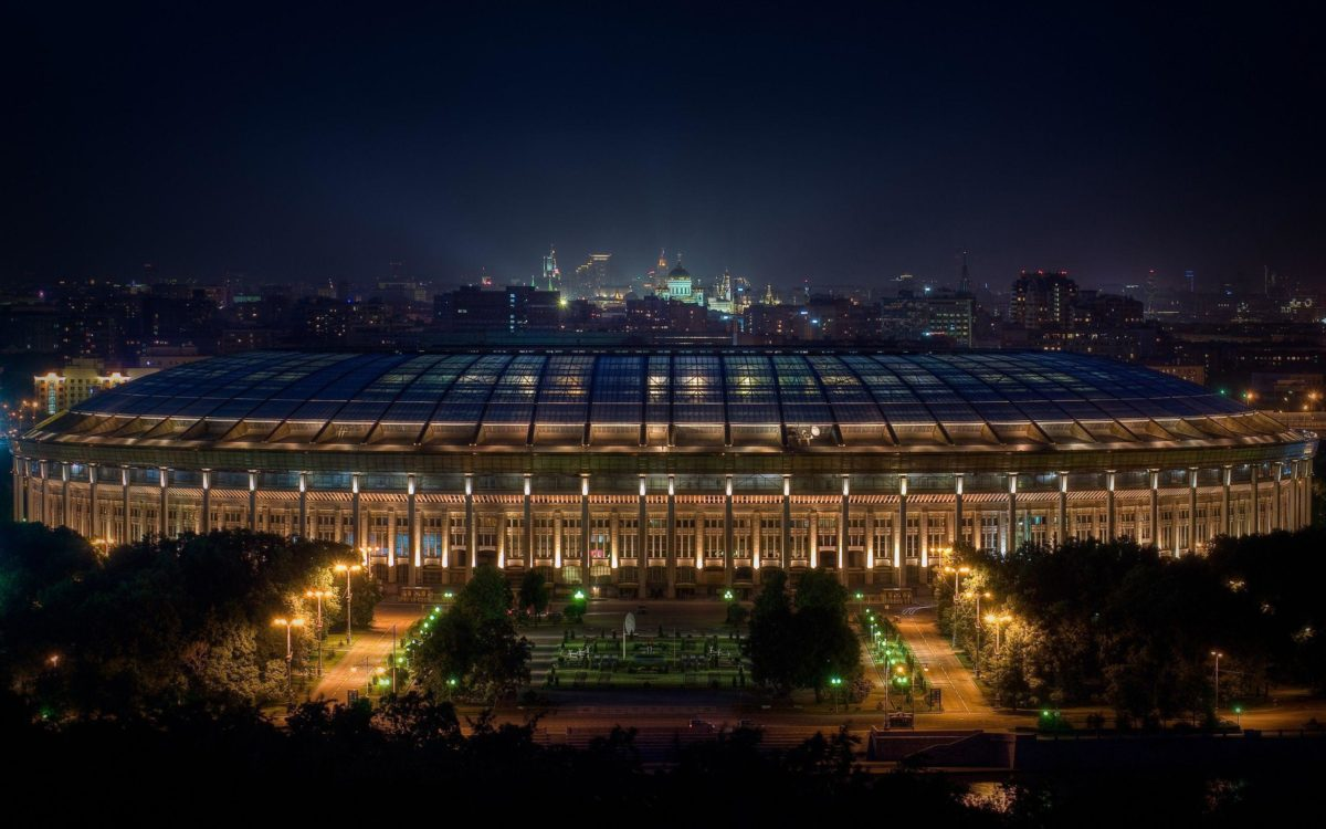 Stadium in Moscow wallpapers and images – wallpapers, pictures, photos
