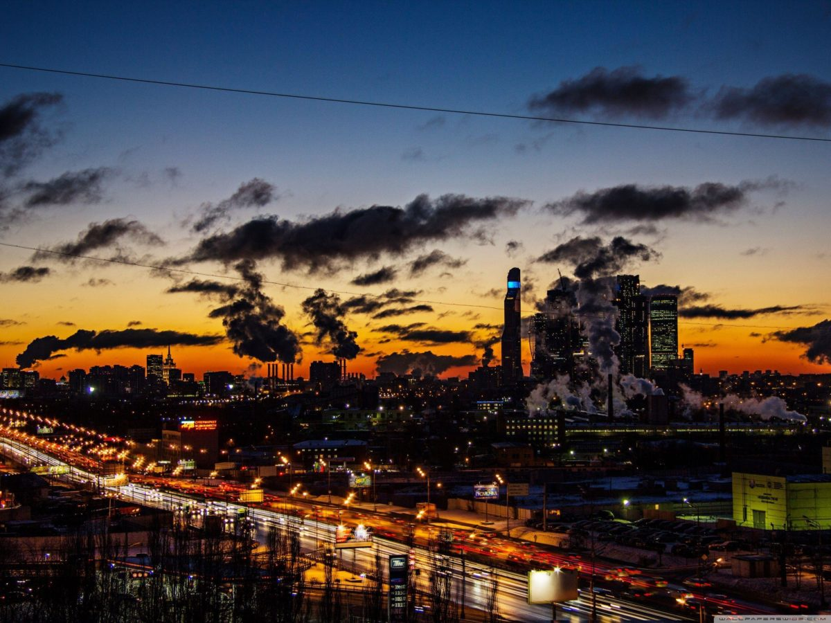 Moscow city 2014 (ART.IRBIS Production) HD desktop wallpaper …