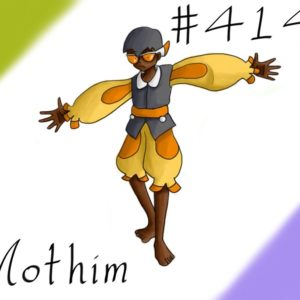 download Pokemon Gijinka Project 414 Mothim by JinchuurikiHunter on DeviantArt
