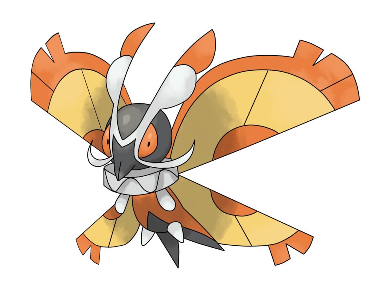 Mega Mothim by 密闭锁心 | Mega POKEMON | Pinterest | Pokémon and …