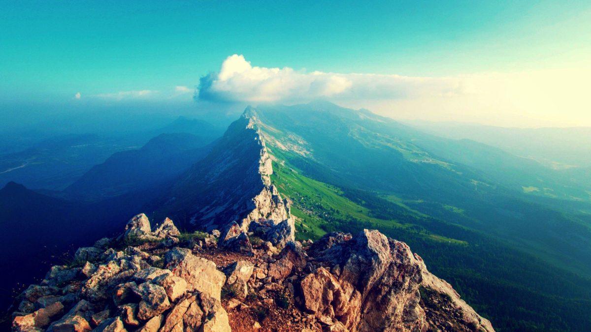 The Lavishing Mountain Wallpaper