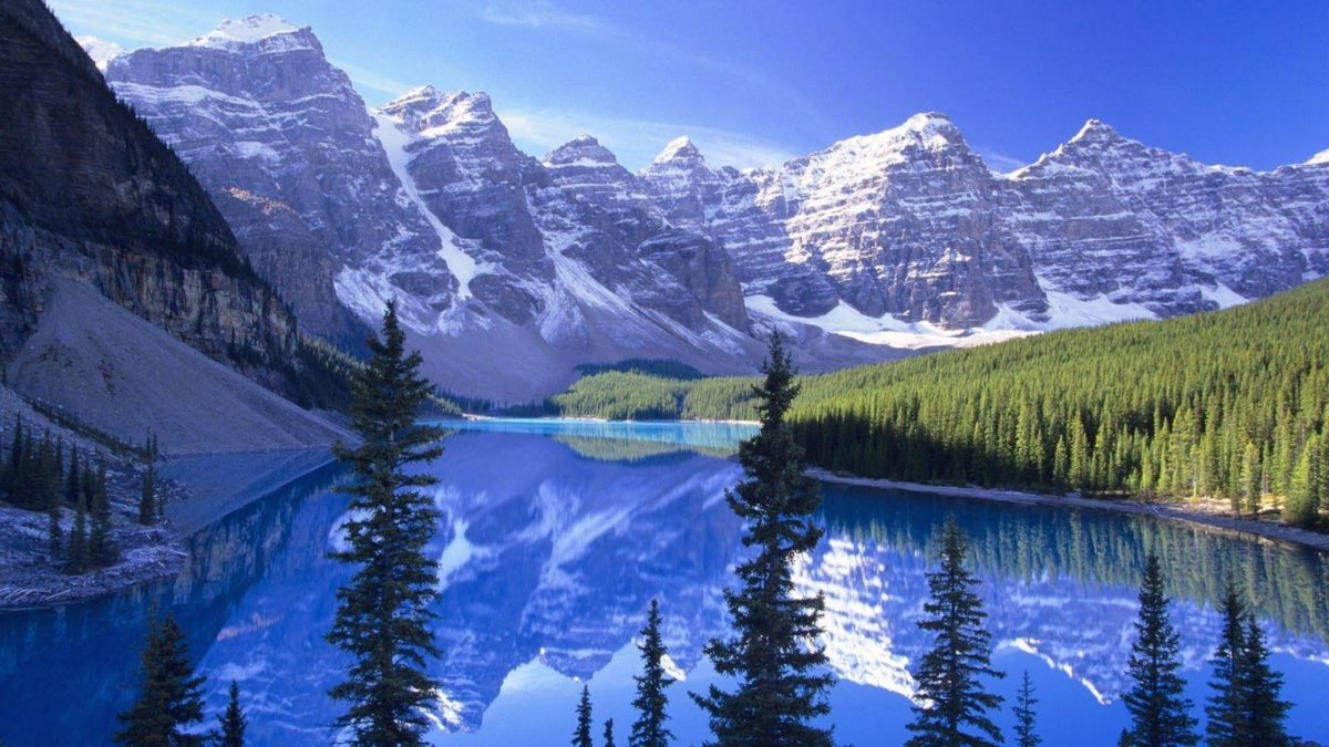 Snowy Mountain Wallpaper | Free HD Desktop Wallpaper | Viewhdwall.