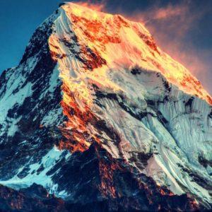 download Burning Sunlight Mount Everest HD Wallpaper » FullHDWpp – Full HD …